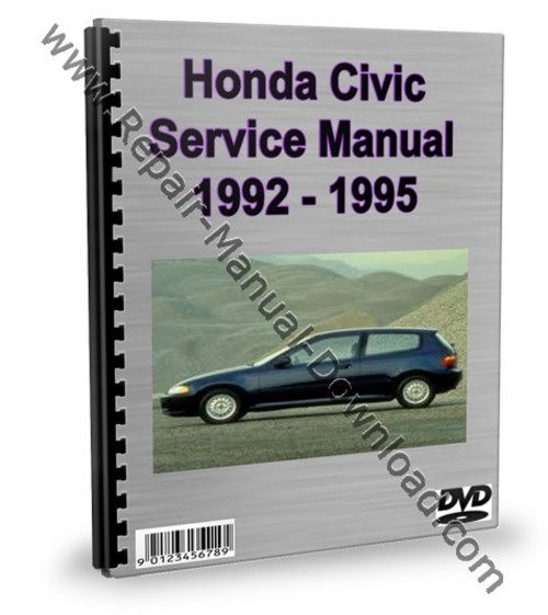 1995 honda civic service manual pdf